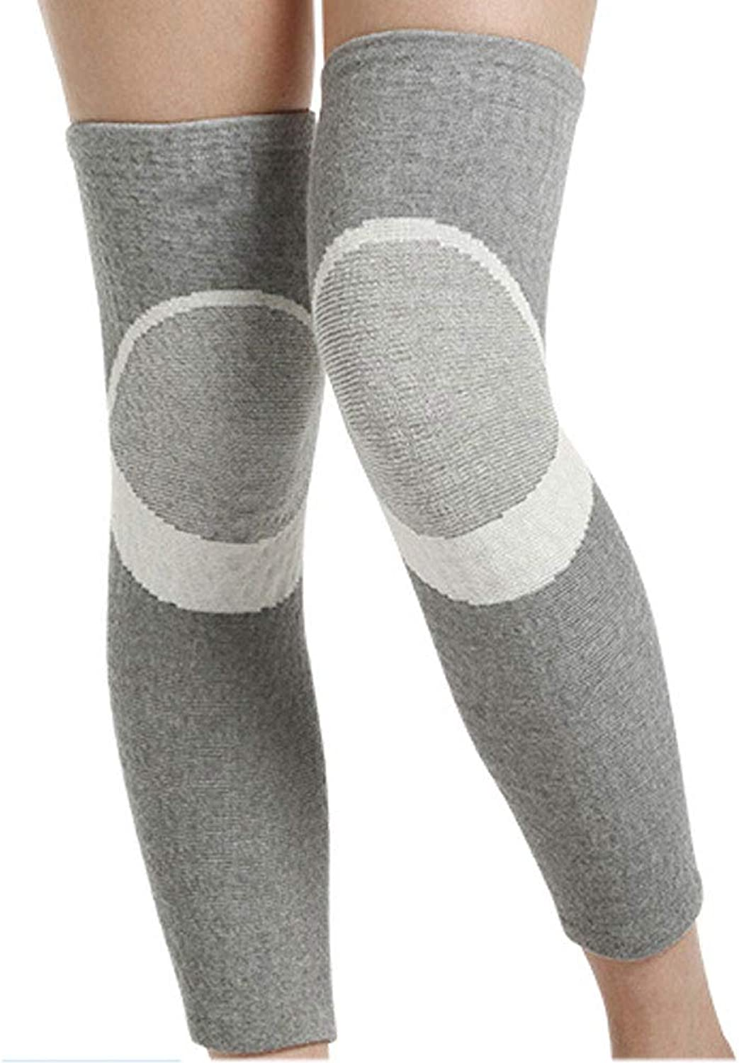 WBBHX Kneepad, Longer Kneepad Keep Warm Ms Old Cold Leg Thin Section Four Seasons Leggings Joint Cold Predection