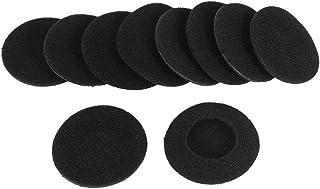 Negro Solustre 5 Pares de Tapones para Los O/ídos Inal/ámbricos Silicona Suave Deporte Cubre Auriculares Protector Gancho Tapones para Los Auriculares de Apple