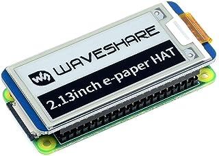2.13 インチ 250X122 SPI通信 電子ペーパー モジュール Eink EPaper ディスプレイ 画面 HAT for Raspberry Pi Zero W WH Arduino STM32 ラズベリーパイ 3B Plus 3 M...