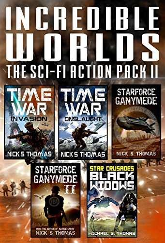 Incredible Worlds - The Sci Fi Action Pack II (5 Full Length Books) (Incredible Worlds Box Set Book 2) (English Edition)