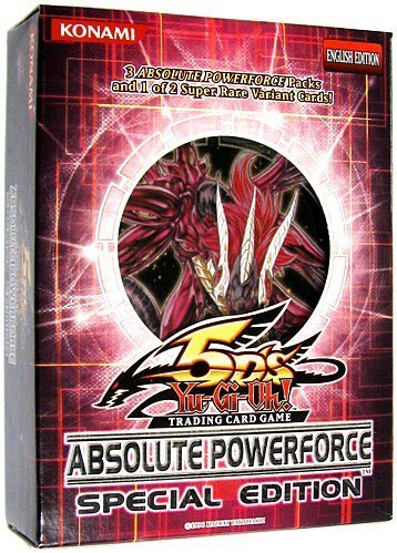 YuGiOh 5D's Absolute Powerforce SE Special Edition Pack Random Promo Card by Yu-Gi-Oh!