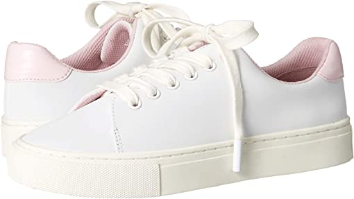 White/Cotton Pink