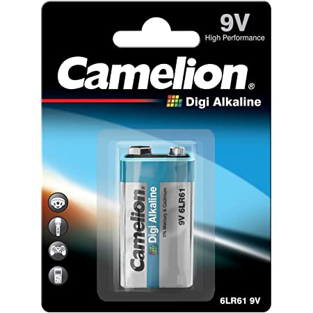 Camelion 6lf22 9 V Plus Alkaline Battery Elektronik
