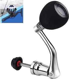 Vbestlife Reel Replacement Metal Power Handle Grip Part - Metal Rocker Arm Grip Fishing Spinning Reel Handle Grip