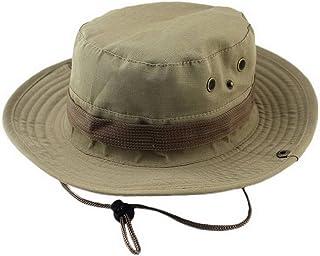 COMVIP Men Adjustable Camouflage Foldable Outdoor Fishermen Sun Hat