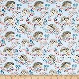 Windham Quilt Fabrics Fuchs-Holz Igel, Blau