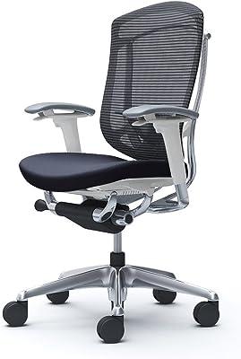 オカムラ オフィスチェア コンテッサ セコンダ 可動肘 ハイバック 座:革 ブラック CC83BZ-FPT1