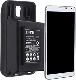 IBESTWIN Note 3 Battery, 10000mAh Extended Lithium Replacement Battery for Samsung Galaxy Note 3 N9000, N9005 LTE, AT&T N900A, Verizon N900V, Sprint N900P, T-Mobile N900T with TPU Case Cover