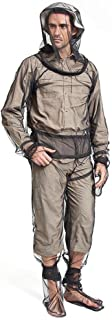 Aolvo Mosquito Suite, Full Body Mosquito Bug Jacket Wear Suit Cloth with Free Carry Pouch, Ultimate Protection from Bugs, ...
