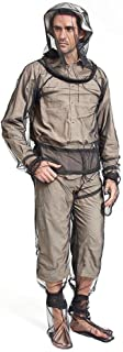 Aolvo Mosquito Suite, Full Body Mosquito Bug Jacket Wear Suit Cloth with Free Carry Pouch, Ultimate Protection From Bugs, No-See-Ums, Midges. Perfect for Hiking, Camping, Fishing &Outdoor Activities