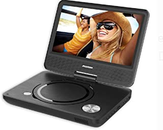 Sylvania SDVD9070 Portable DVD Player with 9-Inch Screen, USB, Card Reader and 5-hour Battery