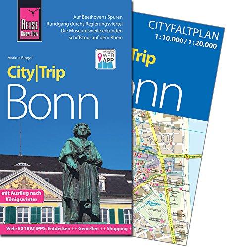 Reise Know-How CityTrip Bonn: Reiseführer mit Faltplan und kostenloser Web-App
