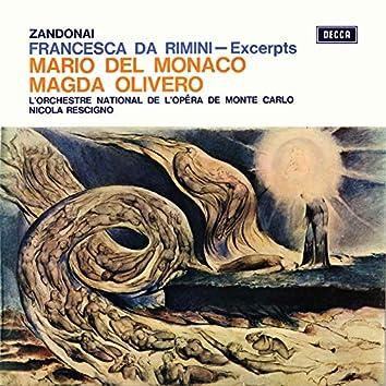 Zandonai: Francesca da Rimini – Excerpts (Opera Gala – Volume 20)