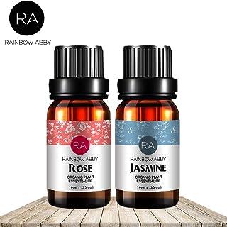 Rose Jasmine Essential Oil Set Now Aromatherapy 100% Pure Therapeutic Grade Oils, 2/10ml