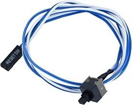 uxcell Power Button Switch Cable Cord 52cm 20.5 inches Long for PC Switches Reset Computer