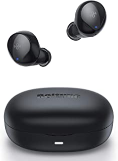 Wireless Earbuds | Boltune Bluetooth 5.0 Headphones | Touch Controls | Grapheme Driver with Deep Bass | Built in Noise Cancellation Mic | IPX8 Waterproof | USB-C Quick Charge | Single/Twin Mode
