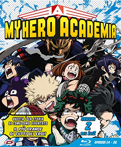 My Hero Academia St.2 (Box 3 Br) (Eps 14-26) (Ltd Edition)
