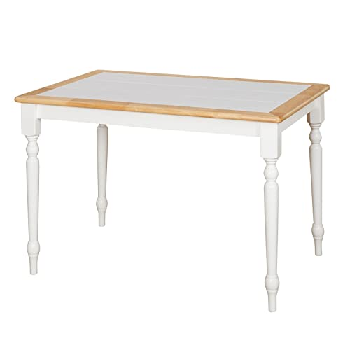Tile Top Dining Table: Amazon.com