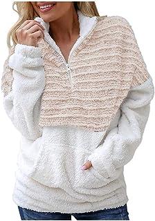 Moda 2020 del Peluche De Señoras Invierno del Casual Modernas La Capa De Lana Otoño Suéter Mullido Rollkragenpullove Larga...