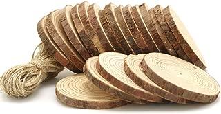 YuBoBo Wood Slices 20 Pcs 2.8