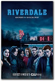 leomuzi Riverdale KJ APA Crime Mystery USA 2017 Tv Series Show Canvas Home Decor Wall..