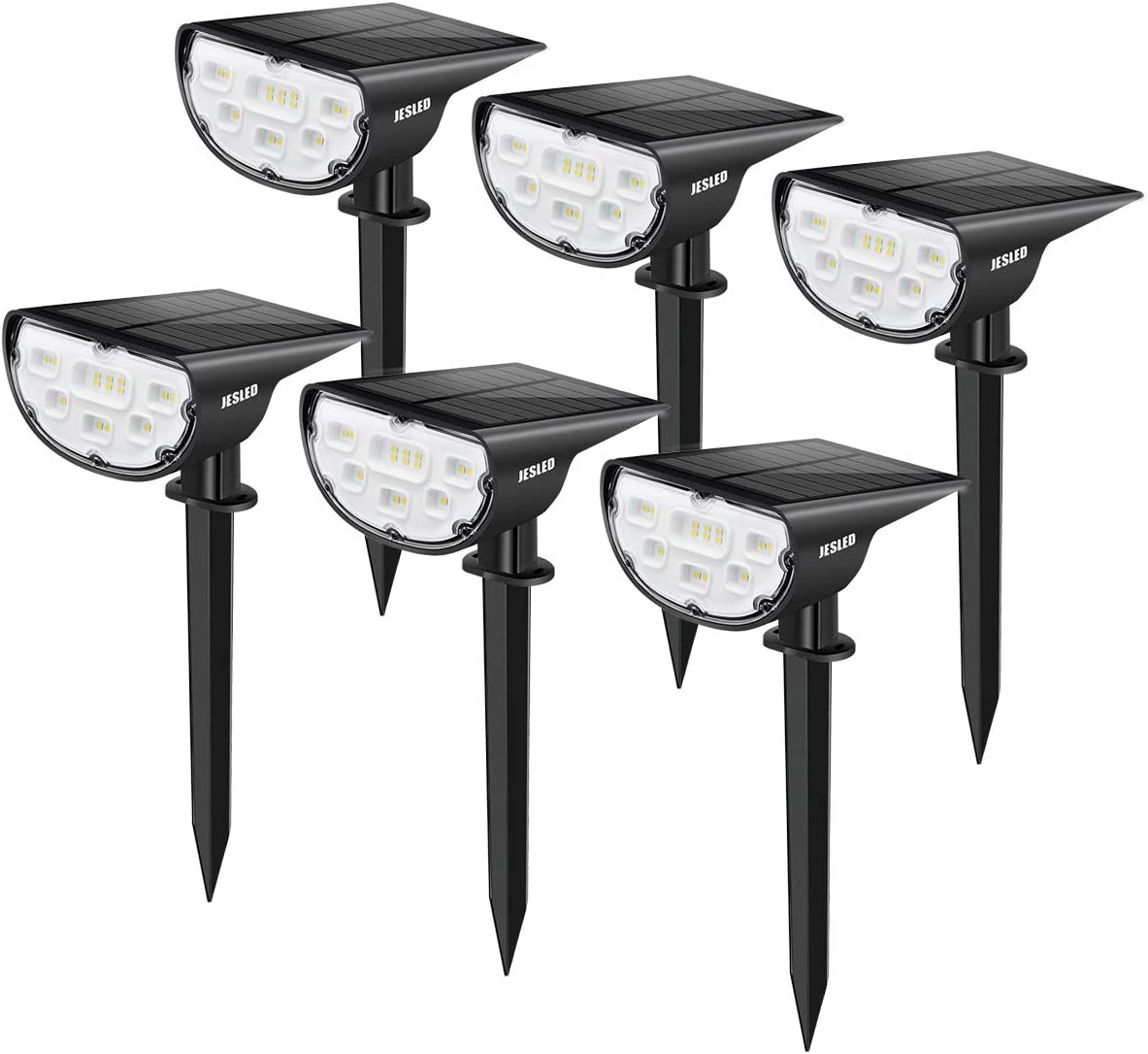 JESLED Ranking TOP13 At the price 14 LED Landscape Spotlights Outdoor L Spot Powered Solar