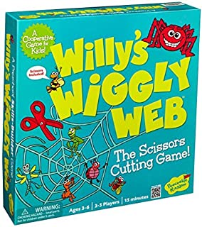Peaceable Kingdom Willy's Wiggly Web Award Winning Preschool Skills Builder Game for Kids
