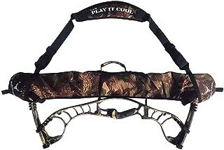 HBG Archery Compound Bow Sling Carrying Shoulder Strap Holder Case String Bag for Outdoor Hunting