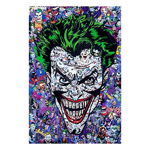 Puzzles for Adults 1000 Piece-The Joker Crown Hand Made Large Puzzle Difficult Puzzles Personalized Gift- Every Piece is Unique