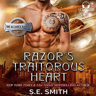 Razor's Traitorous Heart audiobook cover art