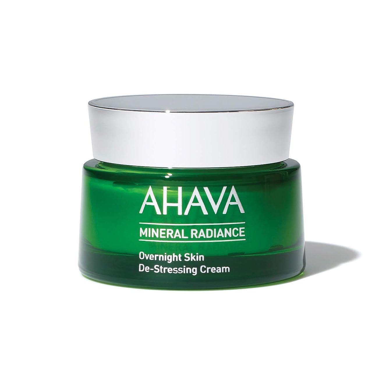 浅いメルボルン基礎理論アハバ Mineral Radiance Overnight De-Stressing Cream 50ml/1.7oz並行輸入品