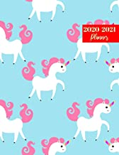 2020-2021 Planner: Pretty Weekly & Monthly Planner with Calendar - Personal Journal Week Planners & Goal Planner Organizer