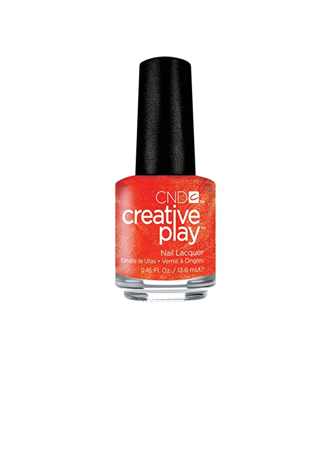 きしむもし死の顎CND Creative Play Lacquer - Orange You Curious - 0.46oz / 13.6ml