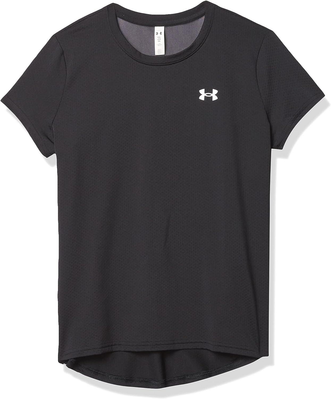 Under Armour Girls' HeatGear Short-Sleeve T-Shirt