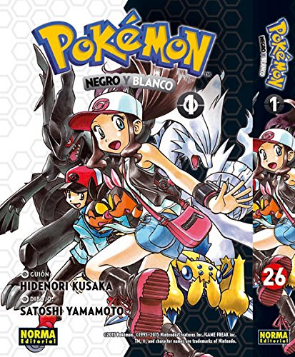 POKEMON 26. NEGRO Y BLANCO 01