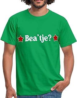 Spreadshirt Bea'tje Biertje Grappige Koningsdag Mannen T-shirt