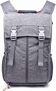 Leisure Mountaineering Bag Oxford Cloth Shoulder Bag Male Outdoor Multi-Function Travel Bag Creative QDDSP (Color : Gray)