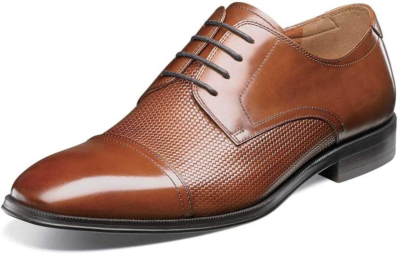 Florsheim herrar herrar herrar Belfast Cap Toe Oxford Cognac 10 EEE USA  mode galleria