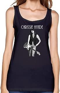 Jiaso Women's O-Neck Funny The Pretenders Chrissie Hynde Tank Top