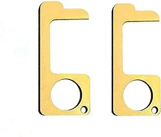 ابزار درب بازکن ، بدون لمس دستی ابزار آسانسور درب کلید قلم Keychain ابزار درب بازکن محیط زیست حفاظت از محیط زیست-2PCS