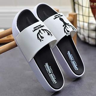 Liangzishop Chanclas Sandalias for Hombre táctil de fijación Punta Abierta de Flip Flop Shoes Mulas Verano Flops (tamaño :...