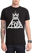 Hot Topic Fall Out Boy Crown Logo T-Shirt