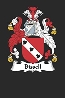 Bissell: Bissell Coat of Arms and Family Crest Notebook Journal (6 x 9 - 100 pages)