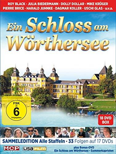 Ein Schloss am Wörthersee - Sammeledition (Alle drei Staffeln mit 33 Folgen auf 17 DVDs plus Bonus-DVD Sommerkapriolen)