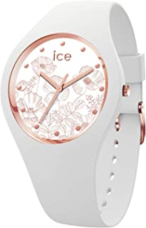 310c3ab882acc Ice Watch - Montre Femme Bracelet Silicone Ice Flower Spring White (016662)