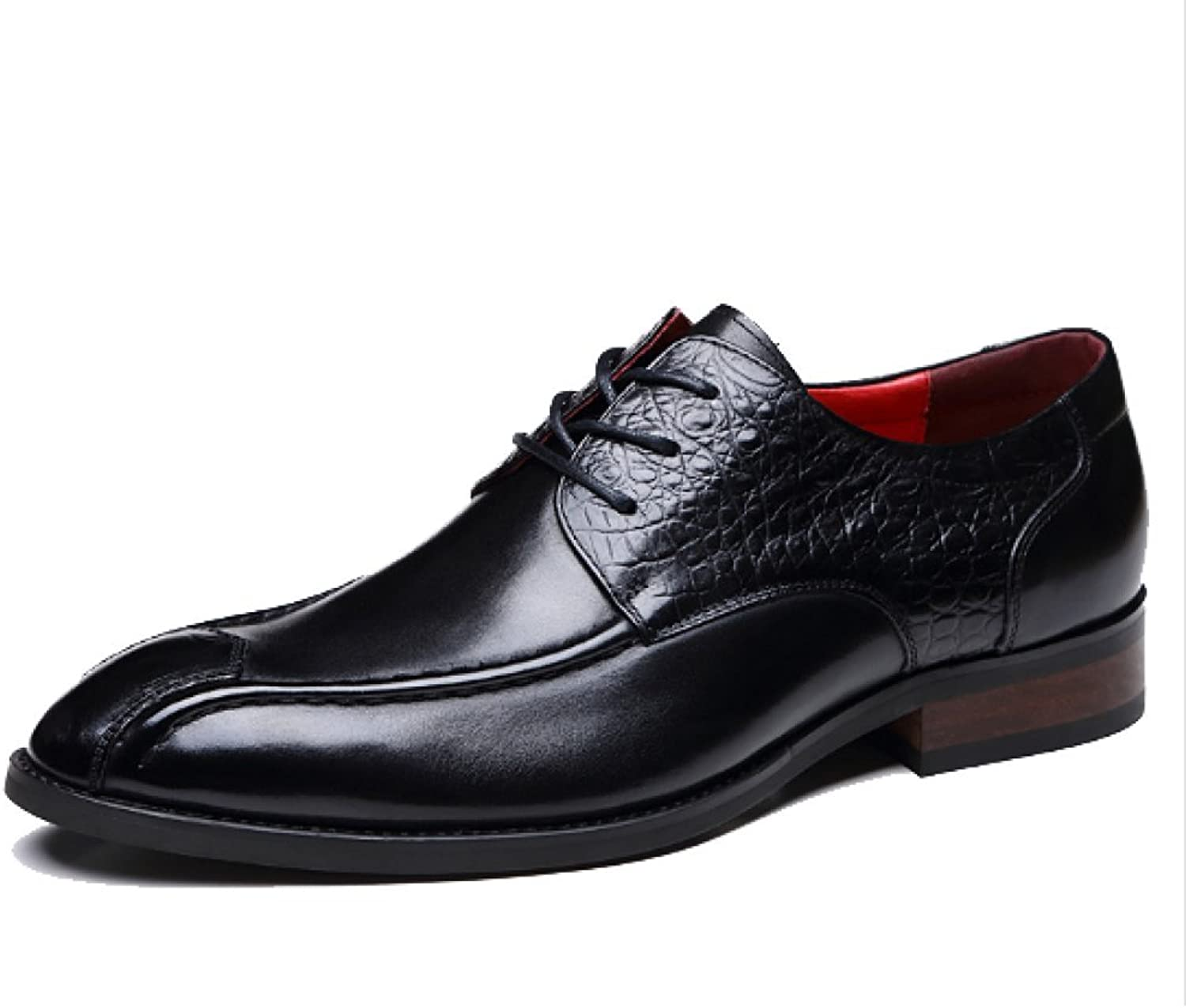 Men's Leather shoes Autumn High-end Handmade shoes Pointed Business Formal Fashion Trend