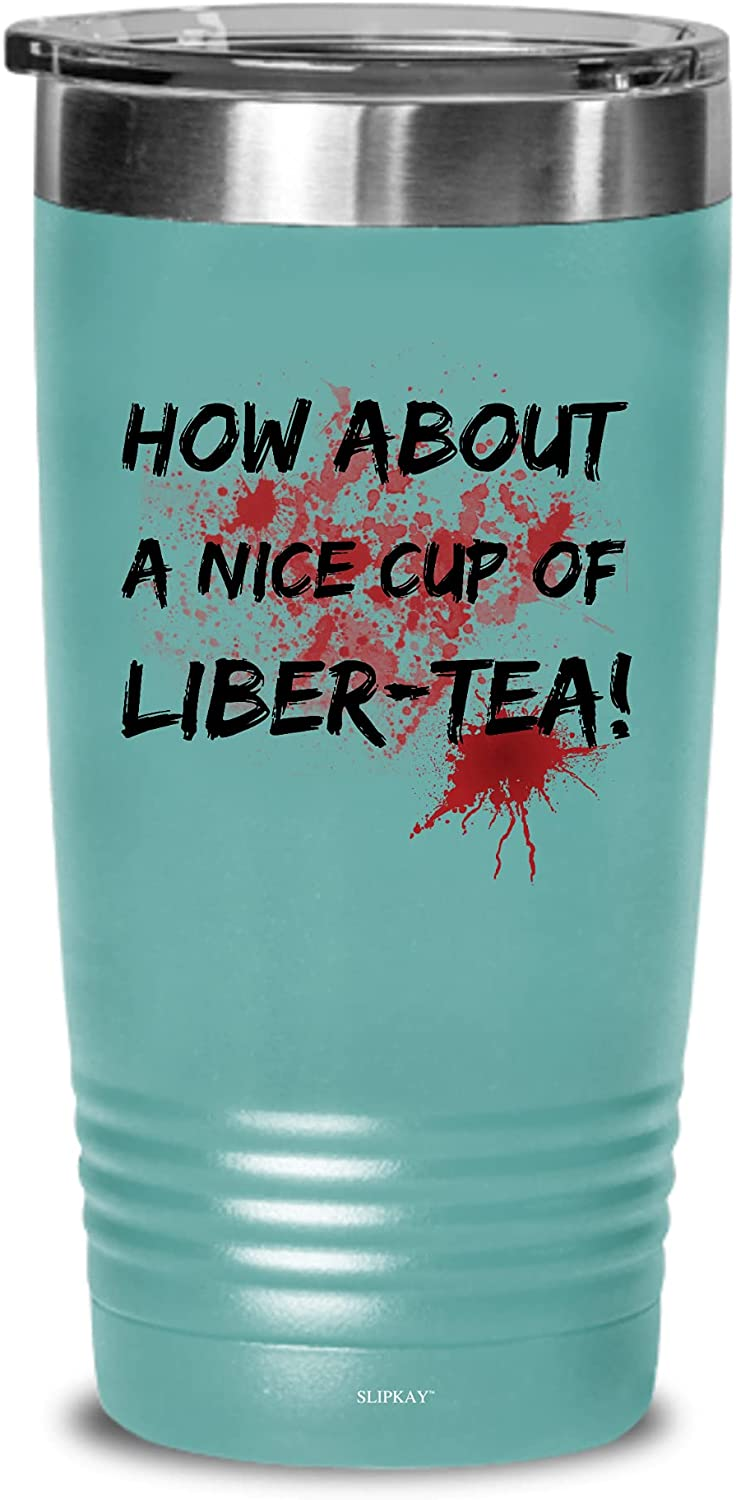 Nice Cup Of Liber 2021 autumn and winter new Tea Tumbler Wholesale 20oz Gifts