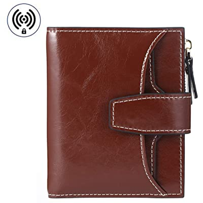 FT FUNTOR RFID Leather Wallet for women,Ladies ...