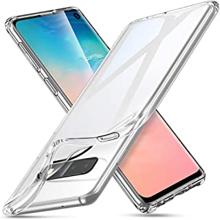 ESR Essential Zero Slim Clear Soft TPU Case Compatible with The Samsung Galaxy S10, Soft Flexible Silicone Cover - Jelly Clear