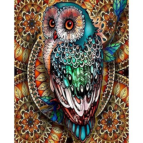ZXDA Frameles DIY Pintura por números Imagen por números Paisaje Pared Arte Pintura acrílica para decoración del hogar Arte A1 45x60cm